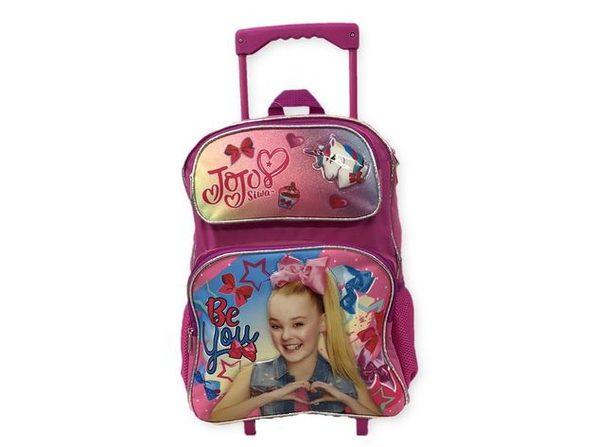 Backpack - Jojo Siwa - Rolling 16 Inch Large