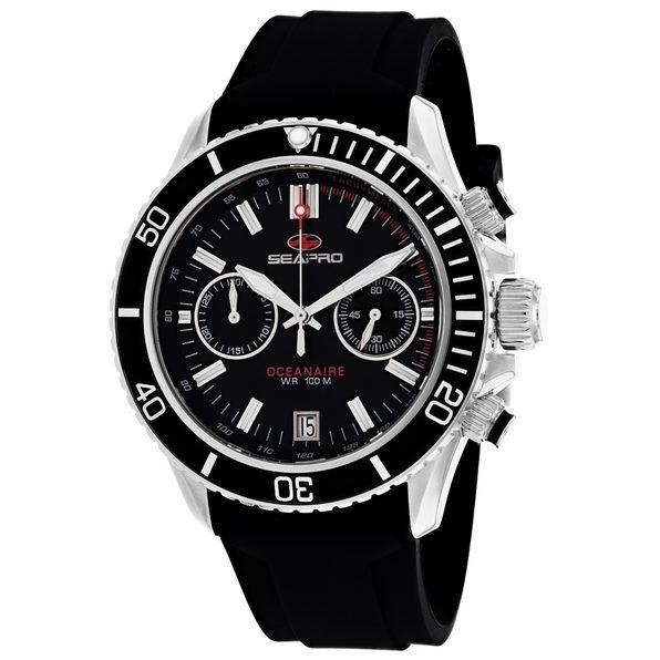 Seapro Men's Thrash Black Dial Watch - SP0330 - Product Image