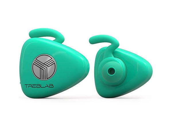 TREBLAB X11 Earphones (Teal)