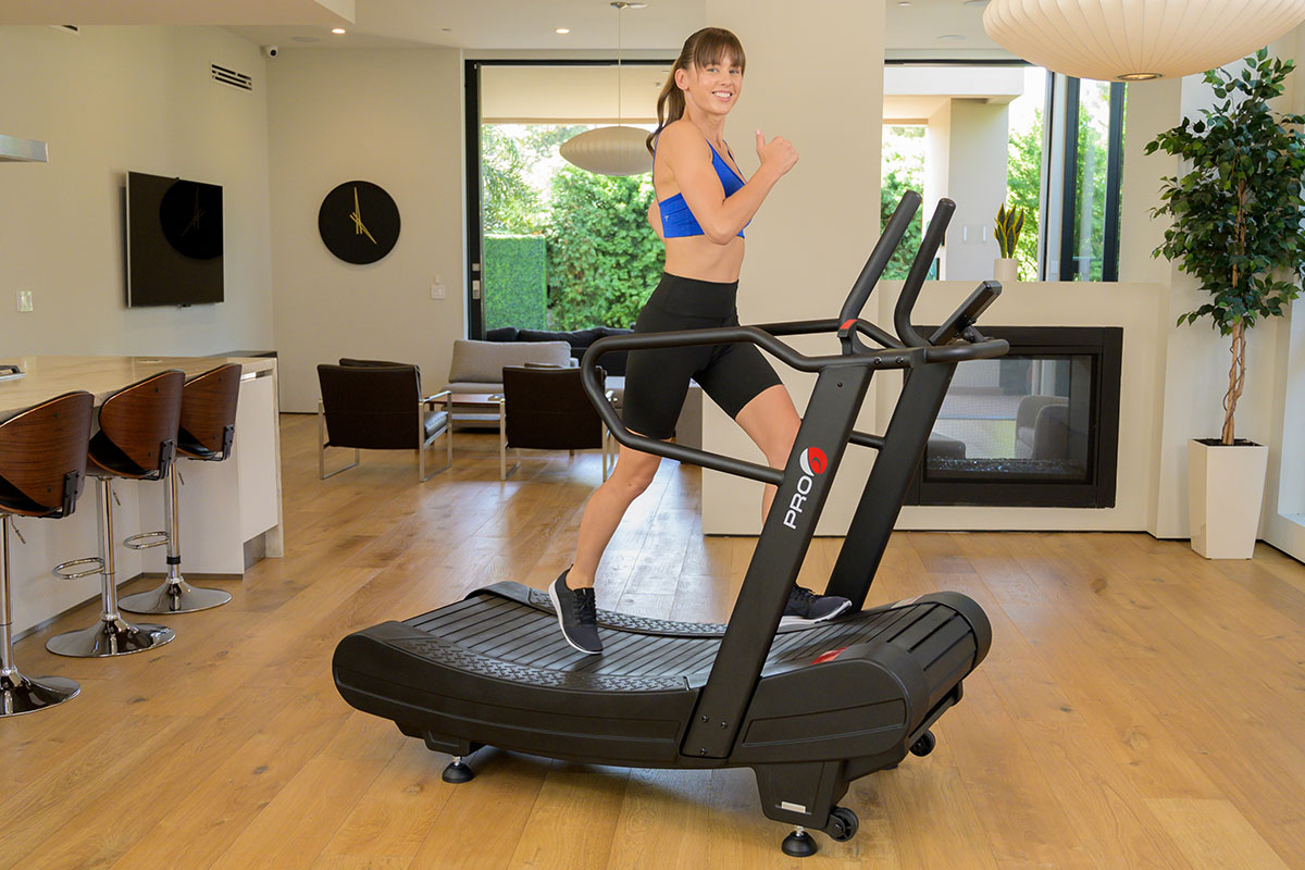 PRO 6 Arcadia Air Runner Non-Motorized Treadmill, on sale for $4,395.00 when you use coupon code STAIRMILL100