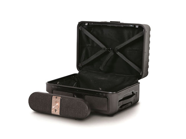 Nomadic Audio Speakase Carry-On & Removable Bluetooth Speaker