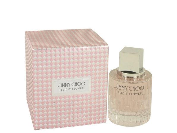 Jimmy Choo Illicit Flower by Jimmy Choo Eau De Toilette Spray 2 oz for Women - Product Image