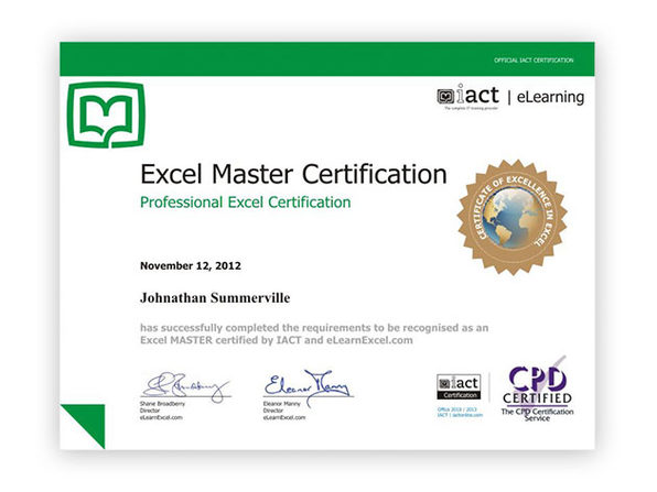 eLearnExcel Microsoft Excel Certification School | StackSocial