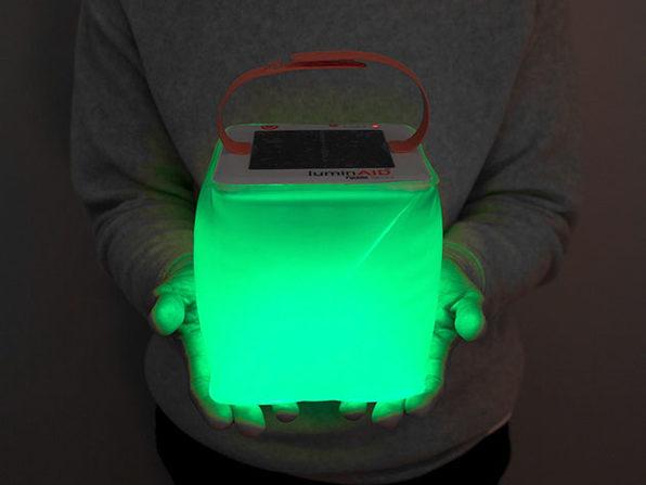 LuminAid PackLite Spectra Solar Inflatable & USB Lantern