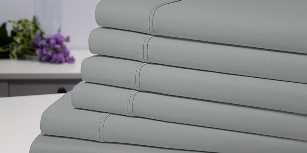 Bamboo Comfort 6-Piece Luxury Silver Sheet Set (Queen), on sale for $38.99 (67% off)