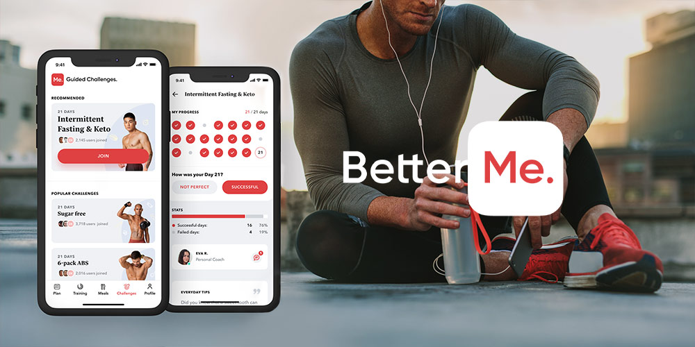 BetterMe Home Workout & Diet: Lifetime Subscription, on sale for $39.99 (96% off)