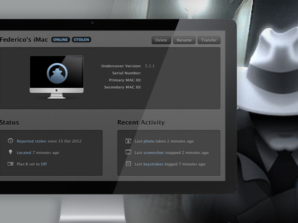 Undercover Mac App - Product Image