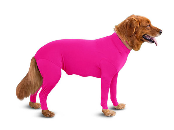 Shed Defender® Original: The World's First Onesie for Dogs (Hot Pink)