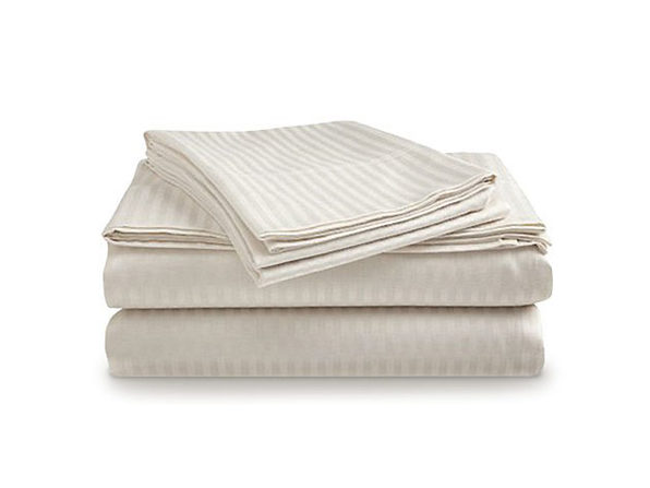 Comfort Linen Ultra Soft 1800 Series Bamboo-Blend Sheets: 4-Piece Set (Beige)