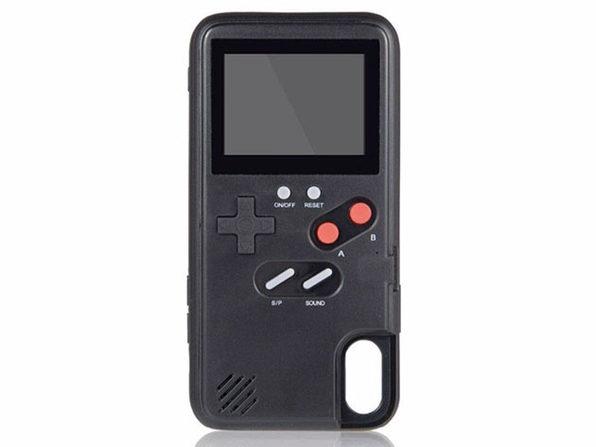 The CaseBoy™ Gamecase Retro Gaming Case (Black - iPhone X/Xs)