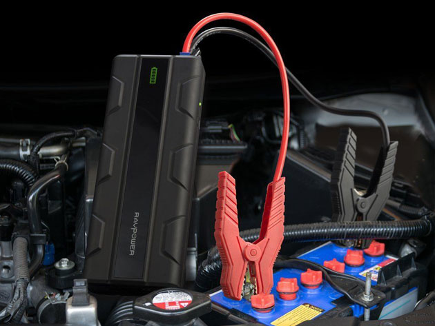 Jump at the chance for 15 percent off this super nifty jump starter