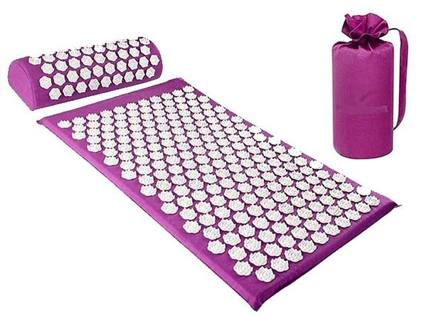 3-Piece Acupressure Massage Yoga Mat Set