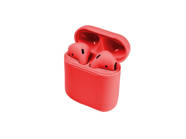 Airybuds i12 Bluetooth Wireless Earbuds (Red)
