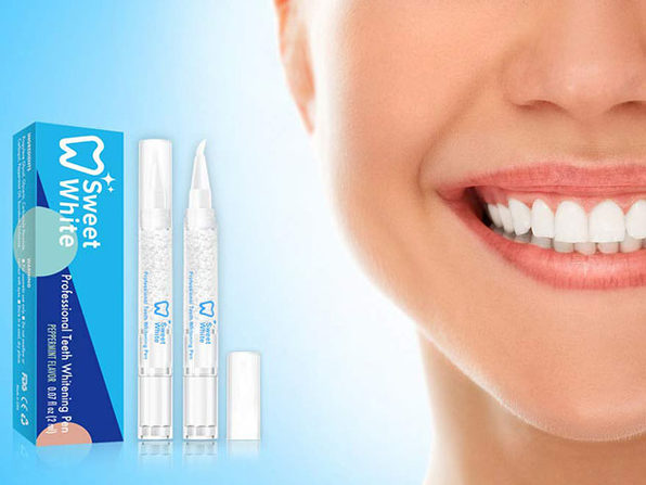 SweetWhite Professional Teeth Whitening Pen: 2-Pack