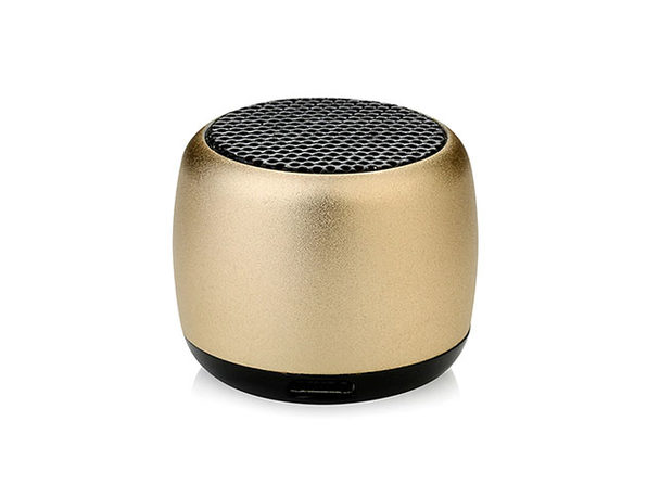 Little Wonder Solo Stereo Multi Connect Bluetooth Speaker (Gold)