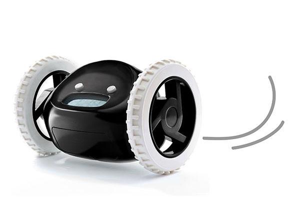 Clocky: The Runaway Alarm Clock (Black)