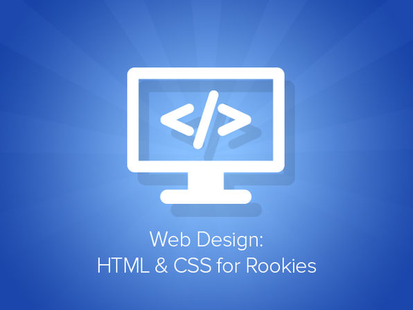 Web Design: HTML & CSS for Rookies - Product Image