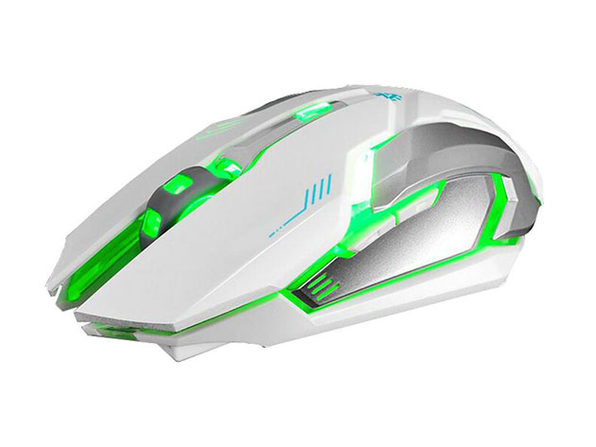 Ninja Dragon Stealth 7 Wireless Silent LED Backlit Mouse