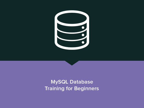 MySQL Database Training for Beginners - Product Image
