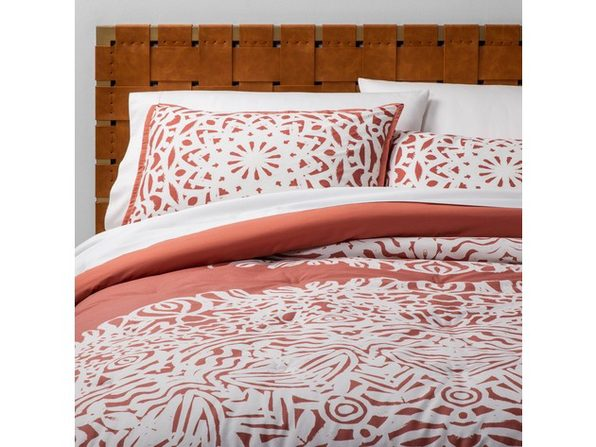 Opalhouse 2-Piece Printed Comforter Set Twin/Twin XL Comforter Set, Rose Medallion