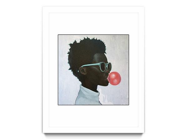 """""""How Far is a Light Year"""" (Framed Print, White Frame)"""