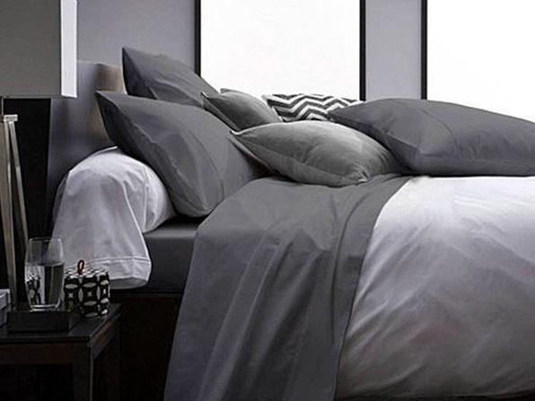 Ultra Soft 1800 Series Bamboo Bed Sheets: 4-Piece Set (King/Grey)