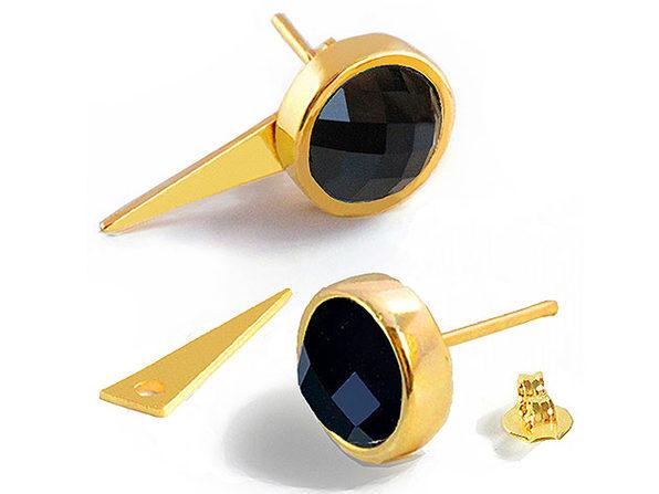 Sonia Hou FIRE Gemstone Earrings