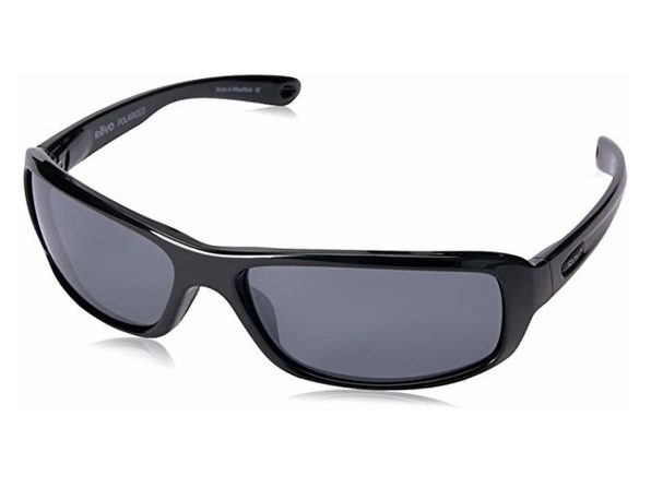 Revo RE 4064X 01 GY Camber Polarized Sunglasses Black with Graphite Lens - Black