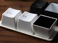 CTRL ALT Delete Cups 6-piece set - White - Product Image