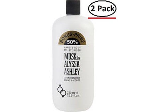 ALYSSA ASHLEY MUSK by Alyssa Ashley BODY LOTION 25.5 OZ (Package Of 2) - Product Image