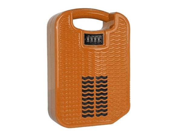 beachsafe® Valuables Storage & Safe with Phone Charging/Cooling (Oh So Orange)