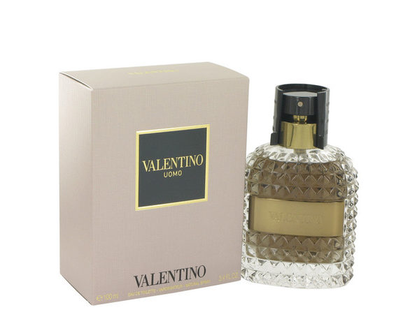 3 Pack Valentino Uomo by Valentino Eau De Toilette Spray 3.4 oz for Men - Product Image