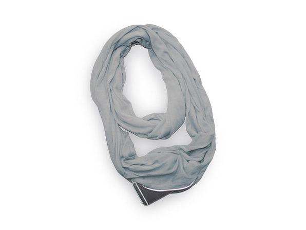 Pocket Scarf (Grey)