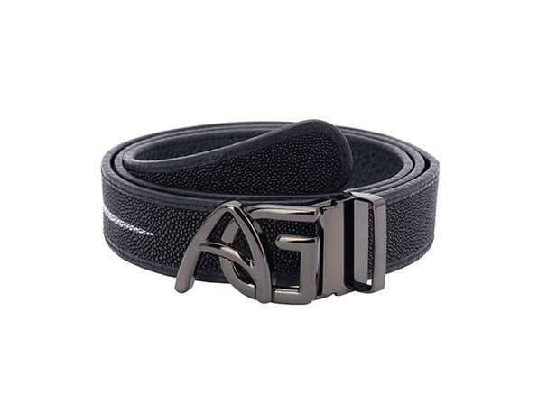 Andre Giroud Exotic Stingray Reversible Belt