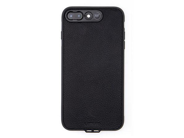 Lemuro iPhone Photo Case | iPhone 7Plus/8Plus (Black Leather)