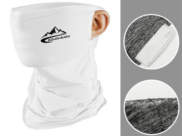Outdoor Sports Mask - White - Product Image