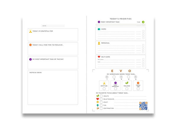 EVO Flow System™ Planner: 2-Pack (Oracle)