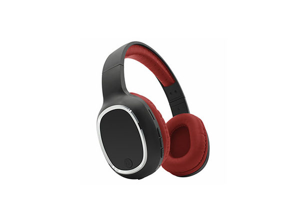 Zunammy Bluetooth Over-Ear Headphones with Comfort Pads (Red)