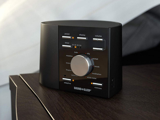 Get a better night's sleep with theAdaptive Sound Technologies