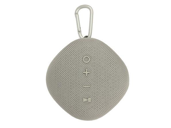 Coby® Waterproof True Wireless Portable Speaker (Gray)