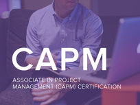 Associate in Project Management (CAPM) Certification - Product Image