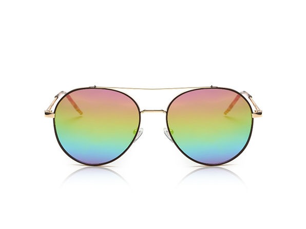 Mavis Classic Mirrored Aviator Sunglasses