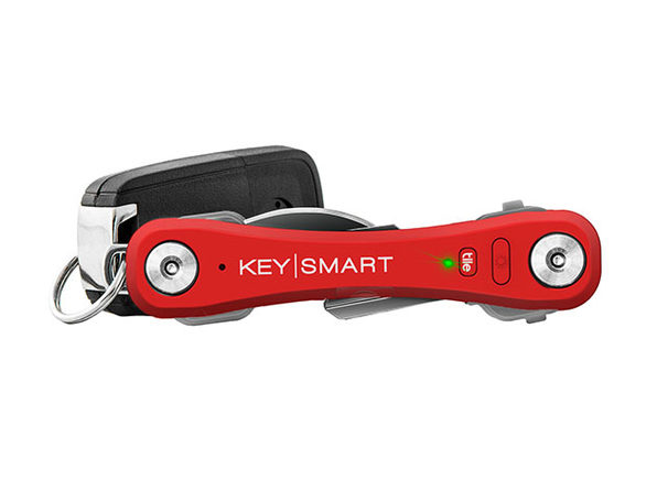 KeySmart Pro with Tile Smart Location (Red)