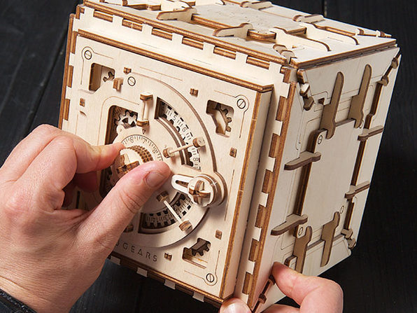 3D Wooden Mechanical Model Kit