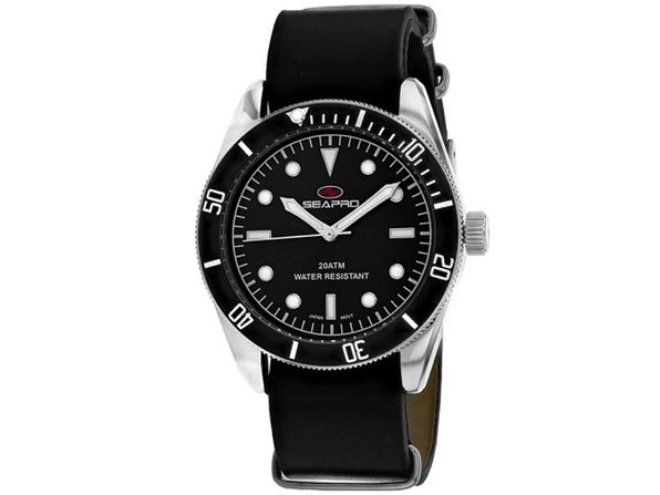 Seapro Men's Revival Black Dial Watch - SP0302