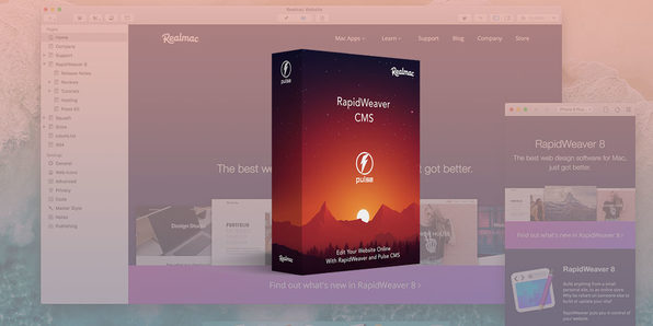 RapidWeaver Online Editing with PulseCMS Video Course - Product Image