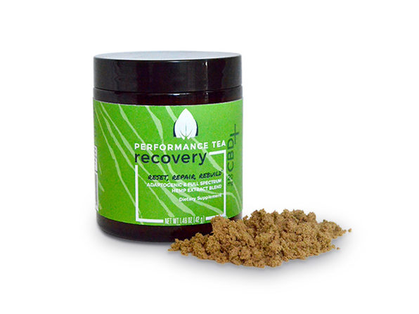 Performance Tea Recovery Instant Blend With CBD