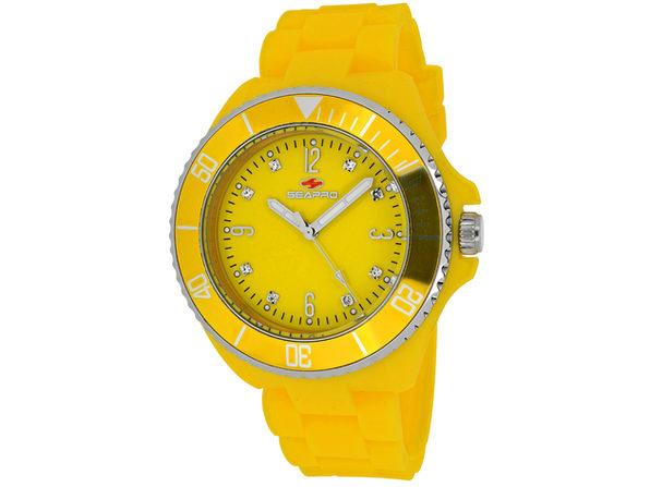 Seapro Women's Sea Bubble Yellow Dial Watch - SP7417