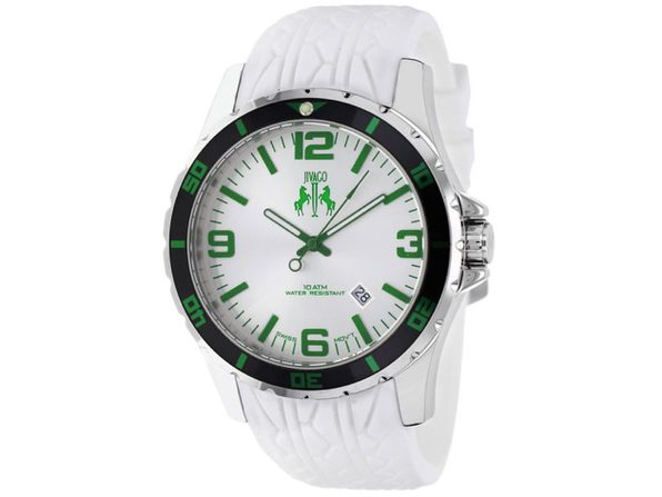 Jivago Men's Ultimate White Dial Watch - JV0116