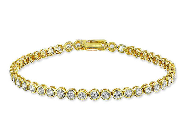 42.00 CTTW Tennis Bracelet with Swarovski Elements